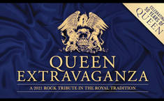"""Your chance to win a pair of tickets to see Queen Extravaganza 2021 Rock Tribute """"Celebrating 50 Years Of Queen"""" at the London Eventim Apollo on 23 January 2021"""