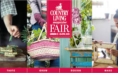 Your chance to win a pair of tickets to The COUNTRY LIVING SPRING FAIR 2020 (23-26 April) Alexandra Palace, London