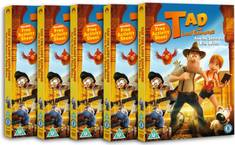 Win Tad The Lost Explorer and the Secret of King Midas on DVD
