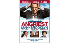 Robin Williams makes one of his final on-screen appearances amongst a star-studded cast in the hard-hitting comedy-drama THE ANGRIEST MAN IN BROOKLYN