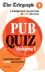 The Telegraph: Pub Quiz book