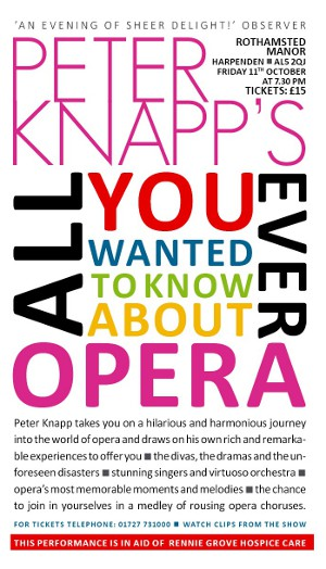 Peter Knapp's All You Ever Wanted To Know About OPERA
