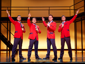 Jersey Boys at the Piccadilly Theatre